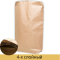 Бумажный мешок четырехслойный