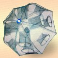 Раколовка зонт автоматическая 12 входов