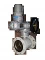 Кран шаровый c редуктором и электроприводом EFAR (EFAWA) WK 6вa DN100 + SQEX10.2F10 для авто газа, LPG, пропан-бутана, ГНС, АГЗС клапан  фланцевый полнопроходной