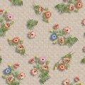 Obrus na biurko przezroczysty silikon PCV 1,37x30m Dzikie kwiaty NTM