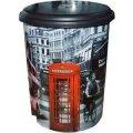 """Ведро с педалью 10л с рисунком Лондон автобус """"ELIF"""""""