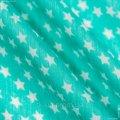 Ткань Шифон Евро Горох Мятный, 131390