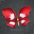 Украшение Бабочка Средняя Красный 150Х180мм