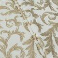Ткань портьерная Ривьера Крем Брюле, Беж, Золото