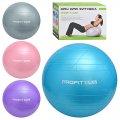 Мяч для фитнеса-65см M 0276 U/R, 12шт, Фитбол, резина, 900г, 4 цвета, в кор-ке, 23,5-17,5-10,5см