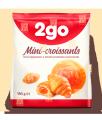 """Круассан Мини """"2go"""" с апельсиновой начинкой 0,18 кг"""