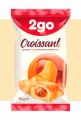 Croissant 2go caramel filling with 0.06 kg