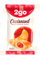 Croissant 2go with strawberry topping 0.06 kg