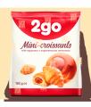 2go Croissant cu caramel de umplere 0,18 kg