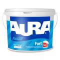 Атмосферостойкая краска для фасадов Aura Fasad Fort 10л