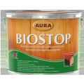 Биозащитная грунтовка для древесины Aura Biostop 9л