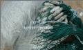 Одностенная сеть со сторожками. Ячея 45, высота 1,5м, длина 75м, 0,15 леска. Титан