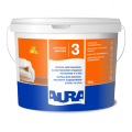 Interior akrilatny paint with high painting characteristics for walls and ceilings of Aura Luxpro 3. Bucket of 10 l.