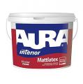 Zmywalne farby do ścian i sufitów Aura Mattlatex 10l