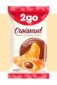 """2GO קרואסון עם מילוי שוקולד 0.06 ק""""ג"""