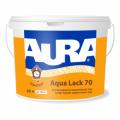 Εσωτερικών ακρυλική λάκα Aura Aqua Έλλειψη 70 10L