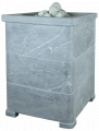 Облицовка для чугунной банной печи - ПБ-03-ЗК Оптима 800/50 Талькохлорит