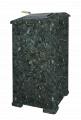 Облицовка для чугунной банной печи - ПБ-02/02-ЗК Президент 1120/50 Комбинированный камень