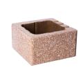 Antike binderstein Ziegelmauer und Partitionen-Standard Hälfte-12 BZC