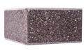 Кирпич Половинка полированная Парадиз коричневый ВА12