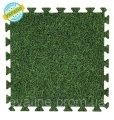 Douce parole-tapis-puzzle 50 * 50 * 1 cm, Eva-ligne Grass