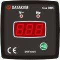 DATAKOM DVF-0101 Вольтметр-частотомер, 1 фаза, 72x72mm