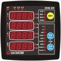 DATAKOM DKM-405-S анализатор электросети, 96x96mm, THD