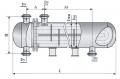Теплообменный аппараты повышенной тепловой эффективности с плавающей головкой и U-образными трубами диаметр кожуха 325, 426, 530 и 630 мм