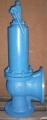 Клапан 17нж6нж Ду150. Ру 16 с ручным подрывом (клапан имеет так же наименование СППК4Р)