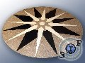 Фигурный раскрой керамической плитки и формирование напольного или настенного узора любой сложности и размеров.