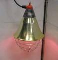 Инфракрасная лампа для обогрева поросят, на свинарниках с Днепропетровска