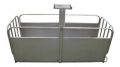 Scales mobile for weighing of pigs, and other animals