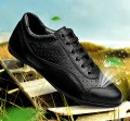 Мужские туфли-оксфорды для вождения из натуральной кожи