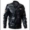 Кожаная тактическая куртка ВВС-(бомбер) для мужчин
