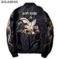 Модная курточка бомбер-(Дракон Орел) для мужчин