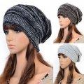 Модные женские вязанные шапки-(Багги)