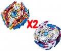 Набор волчков BEYBLADE (Бейблейд) Волчок Xcalibur VS Nightmare Longinus 3 сезон с пусковыми устройствами (SUN90106)