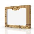 Коробка картонная для полотенец Coffee 45К-04001