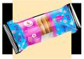 キャラメル「オランダ、」TM「リュブリャナ」パッケージ0.250キロ。、円形、クリスピーとバタークッキー