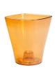 Кашпо для Орхидей Квадро, оранжевый, d130 mm