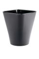 Кашпо для Орхидей Квадро, чёрный, d170mm
