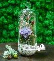 Гвоздика в колбе «Purple carnation»