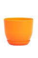 Горшок Классик с подставкой, d160mm, оранжевый