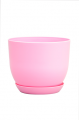 Горшок Классик с подставкой, d160mm, розовый