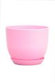 Горшок Классик с подставкой, d190mm, розовый