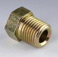 Накидной винт UES 6-1/2-20 UNF для трубопроводов тормозного привода. Соединение 1 -Дюймовая наружная резьба. Соединение 2 - Трубное. Соединение 3- Гаечная резьба UN/UNF