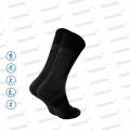Носки унисекс треккинговые черные