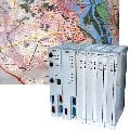 Комплект аппаратуры управления мнемосхемой карты города РЕ2008