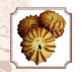 Песочное печенье Веснушка