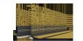 Приоконный профиль 6мм с самоклеющейся лентой и стеклотканевой сеткой